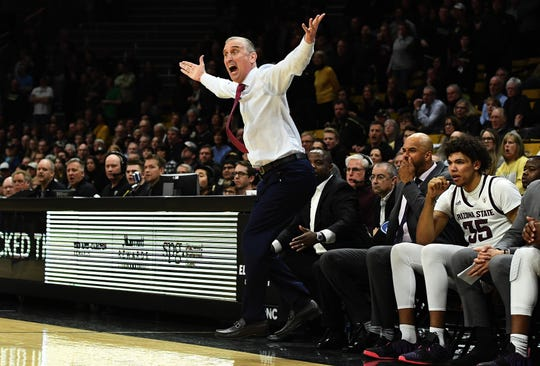 Arizona State Sun Devils head coach Bobby Hurley and his team have work to do to make the NCAA Tournament.