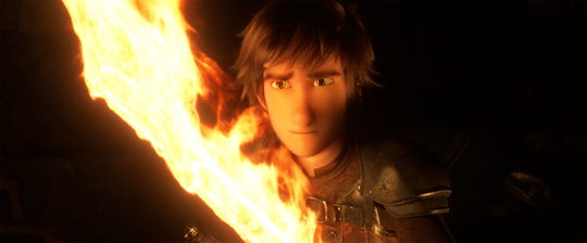 "Hiccup returns in ""How To Train Your Dragon: The Hidden World."""