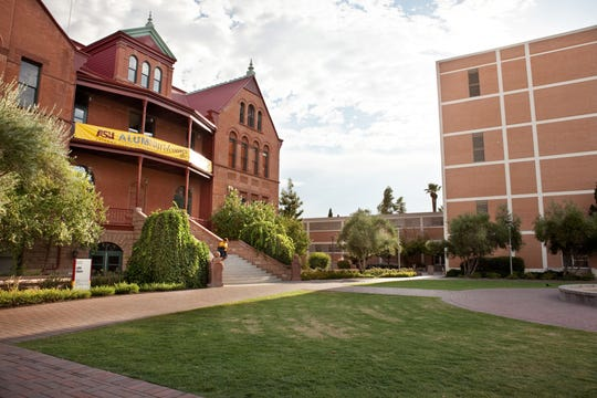 Old Main on the Arizona State campus in Tempe, Ariz., as seen in 2011.