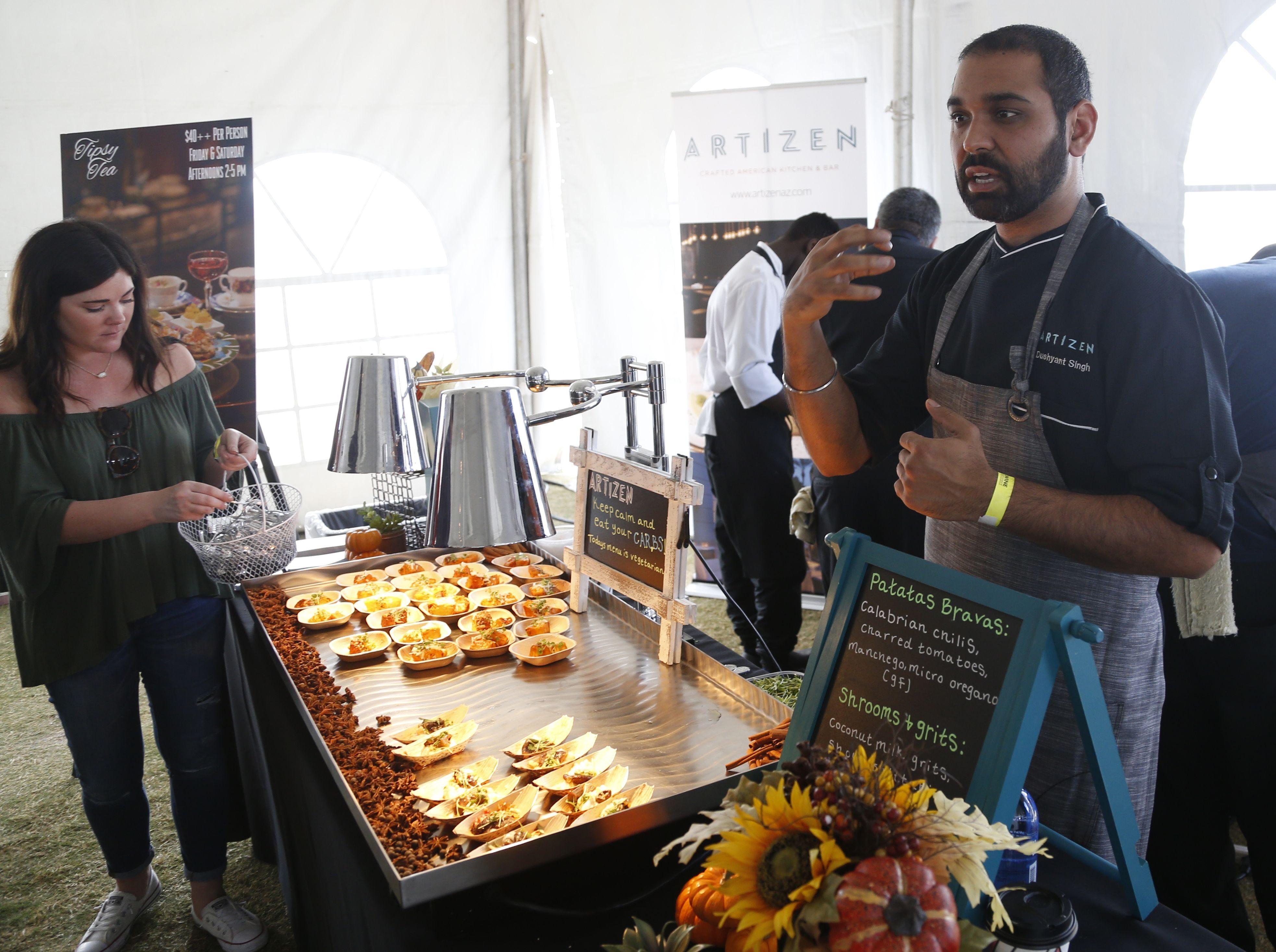 Dushyant Singh of Blue Hound Kitchen & Cocktails