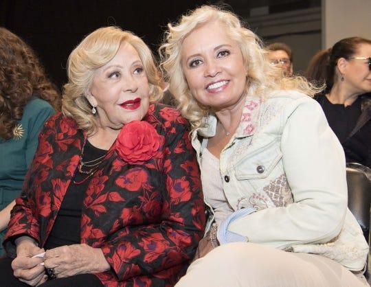Carla agradeció todo el apoyo que recibieron de Silvia Pinal para contar su historia.