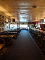 The interior of Laura's Family Restaurant in the Town of Poughkeepsie.