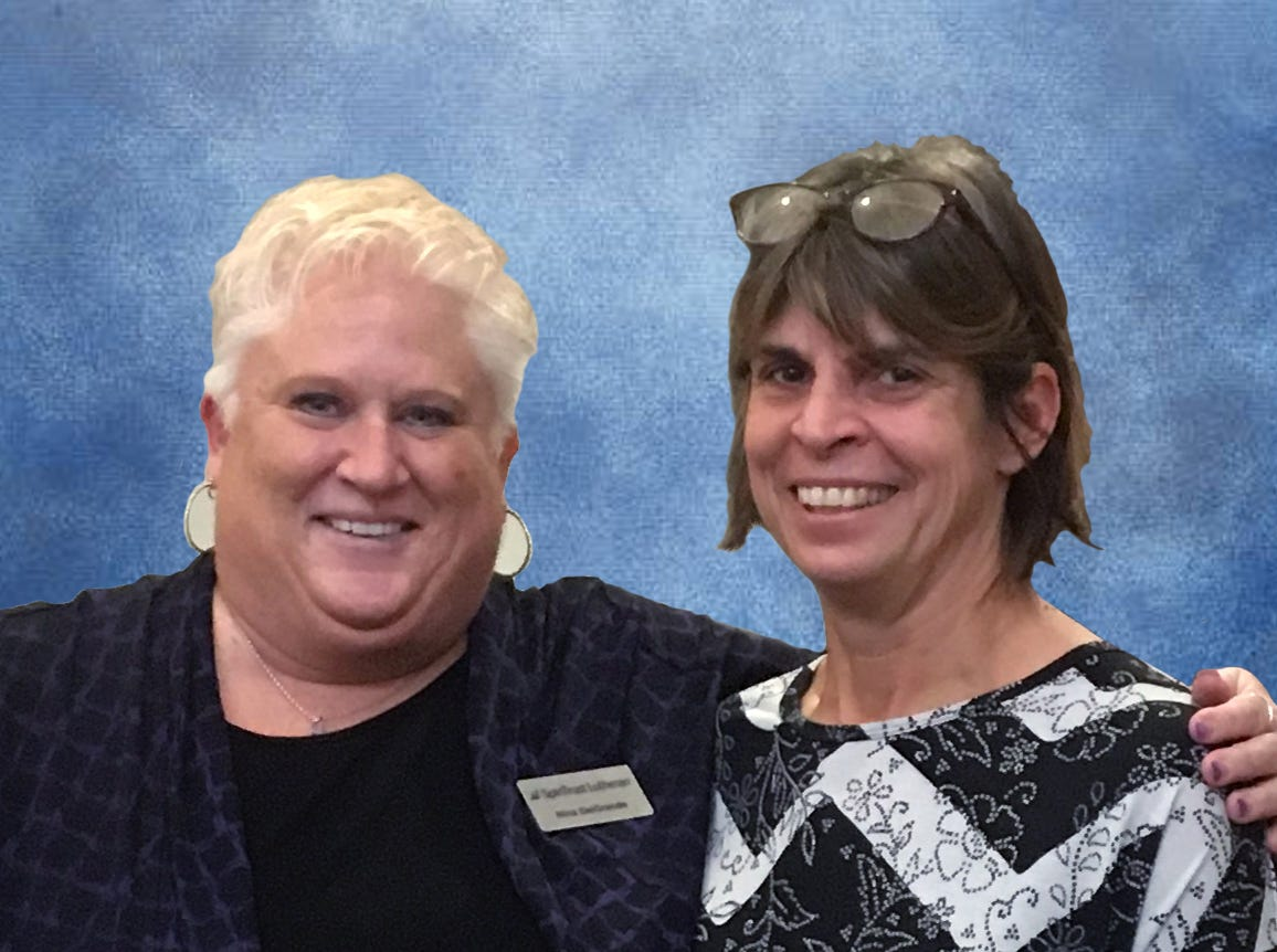 SpiriTrust Lutheran recently presented its 2018 Karen A. Rohaly Award to Deborah Giselman, RN, Hospice Nurse in the agency's Franklin County, PA service area. Pictured are Nina DelGrande, BSN, MHA, NE-BC, Vice President, Community Health Services of SpiriTrust Lutheran, left; and Deborah Giselman, RN, Hospice Nurse. Deborah has been with the agency for 3 years.  She was nominated for the award by three fellow team members.  She was chosen because of the nominations' characterization of her strength, confidence, excellent clinical skills and dedication. submitted