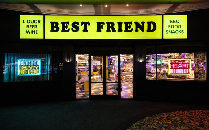 BEST FRIEND in the Park MGM. The first Las Vegas restaurant from celebrated L.A. chef Roy Choi.
