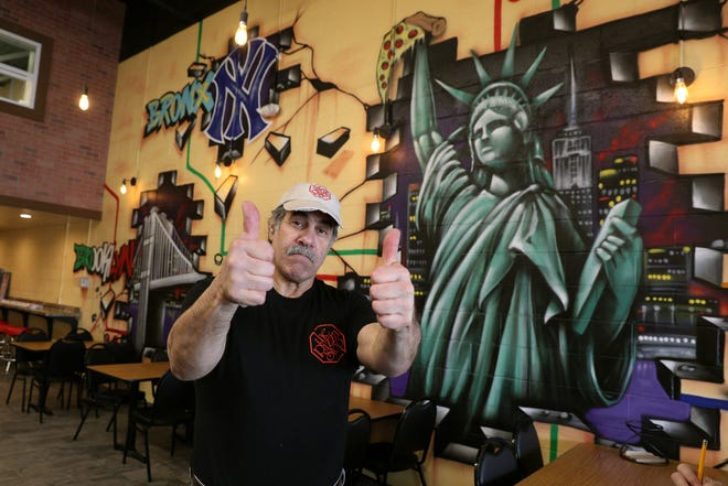 Pizza Stop owner Jim Staffieri is excited to open a new location in Pittsford Plaza.