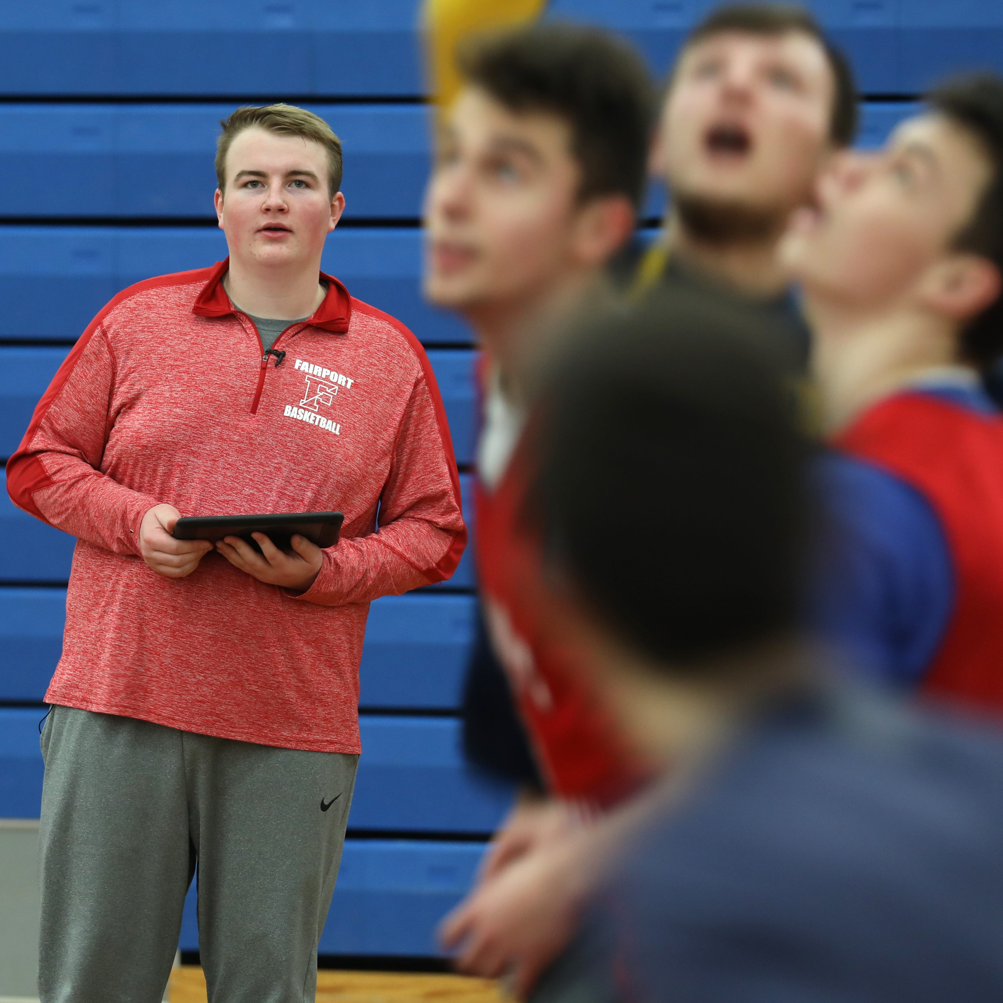 How Nick Parker used analytics to become Fairport's boys basketball's secret weapon