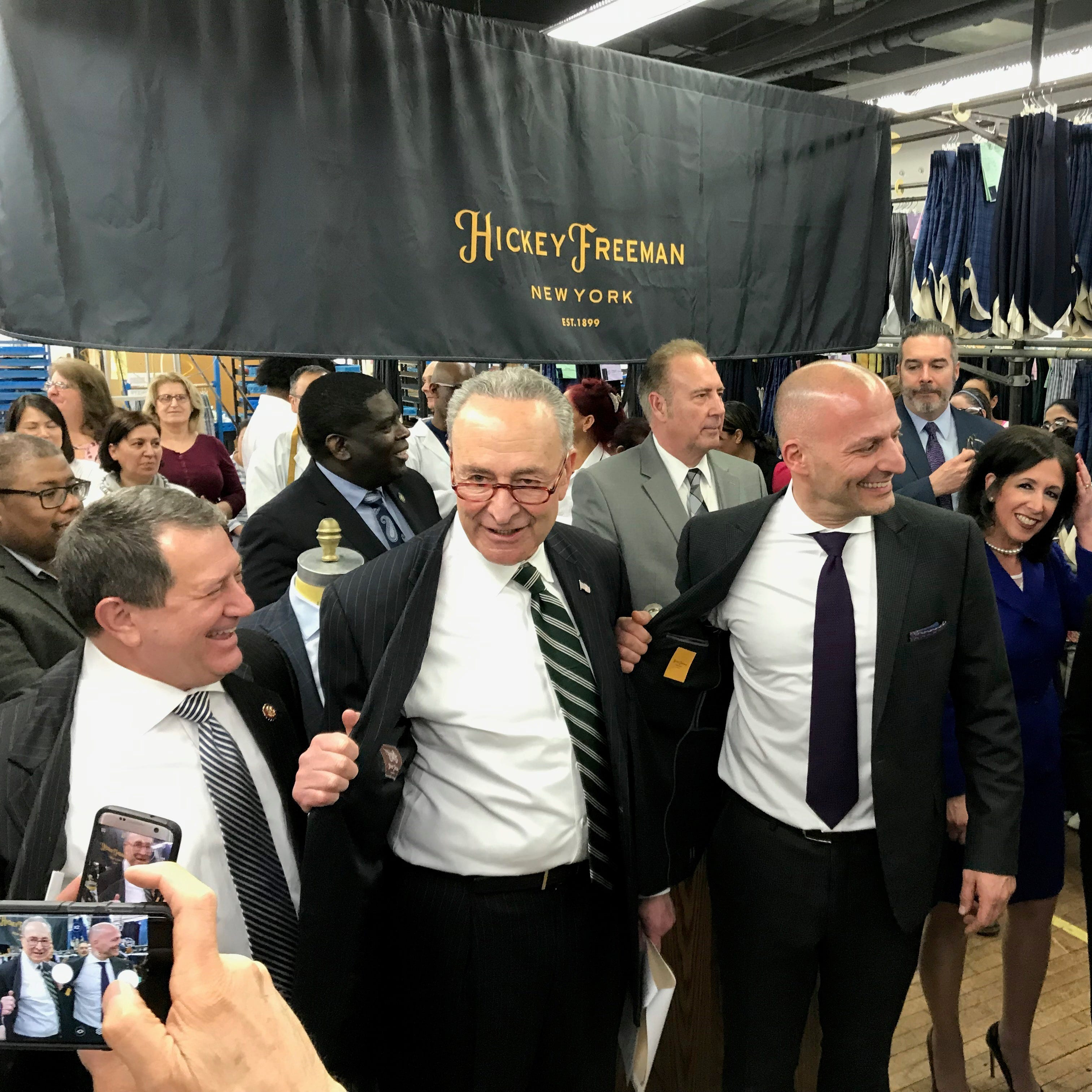 Hickey Freeman to invest $8M, create 80 jobs