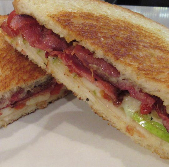 In February 2019,  the provolone and prosciutto melt is on the brunch menu.