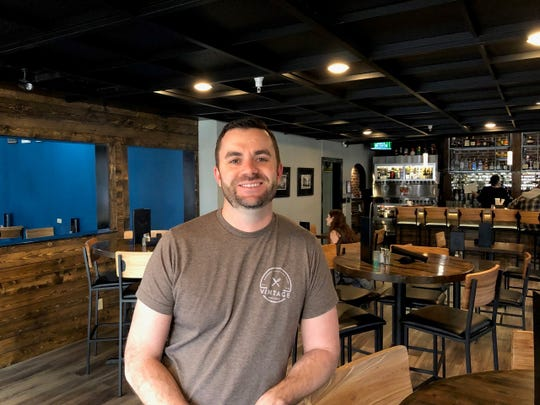 In February 2019, Vintage Public House co-owner Dan Leaverton gets ready for the Sunday brunch crowd.
