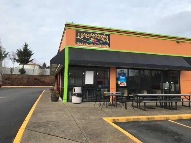 Habaneros Mexican Food, now located at 4940 Commercial Street SE in a space that previously housed one of Salem's Muchas Gracias locations.