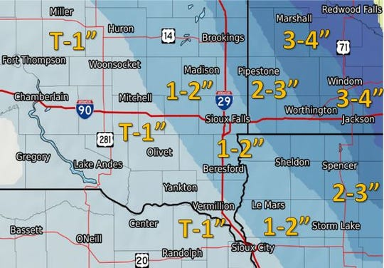 Additional snowfall expected after 6 a.m. on Wednesday, Feb. 20, 2019. Seven inches of snow already fell overnight.