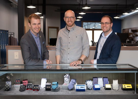 The Broin brothers, Adam, Derek and Jacob own Cufflinks, the men's designer accessories company opening a retail store in Sioux Falls.