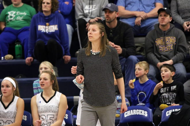 Sioux Falls Christian coach Andrea Begeman