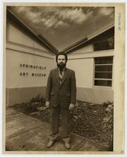 Springfield Art Museum's third director, William Landwehr, was photographed by the News-Leader on March 15, 1982.