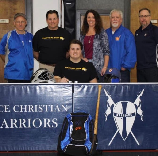Grace Christian's Allred to play baseball for MBU