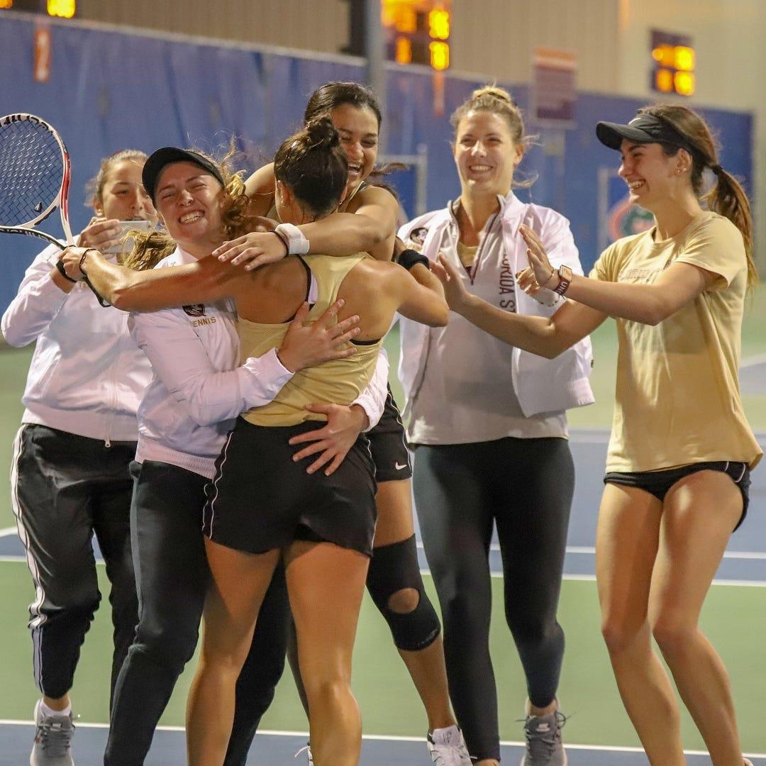 State champs! FSU women's tennis beats Gators