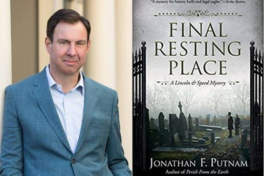 Lincoln scholar Jonathan F. Putnam speaks at Hearth & Soul on Wednesday.