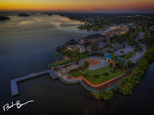 The City of Vero Beach, Live Like Cole Foundation and WIL-CO Construction collaborated to repair the hurricane-damaged Live Like Cole Dock at Royal Palm Pointe. The city had to make needed repairs since the dock is part of Royal Palm Pointe Park and is heavily used by the public.