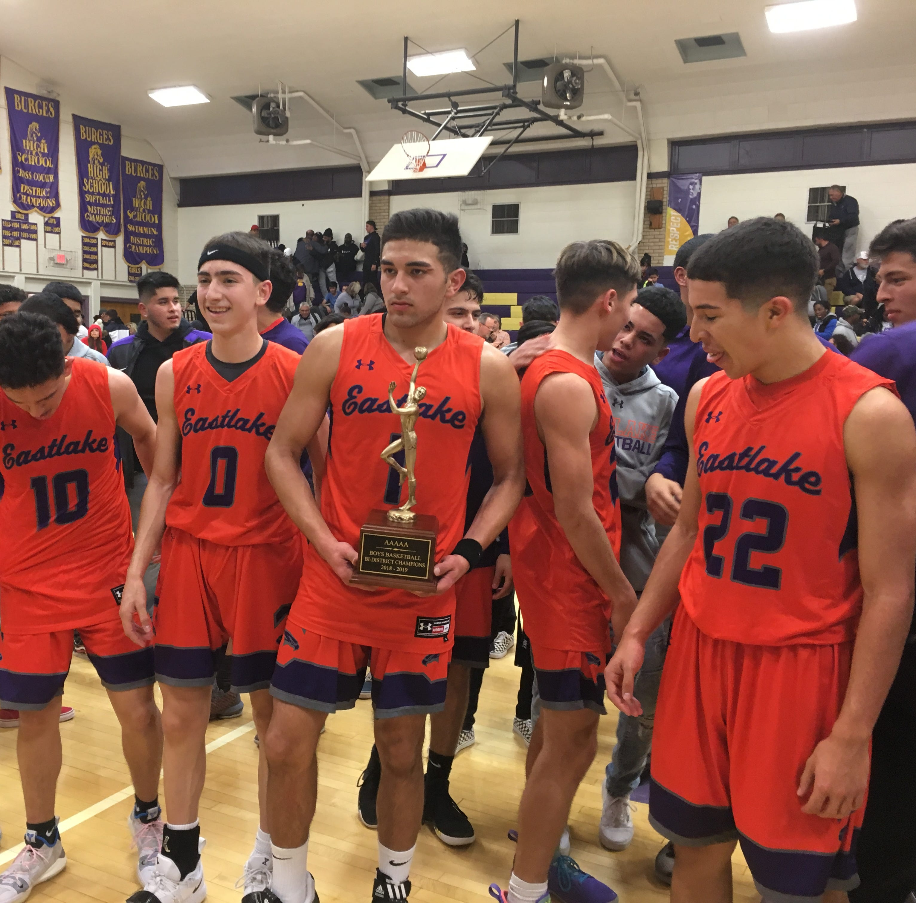 Eastlake High School boys stun Burges in overtime for bi-district title