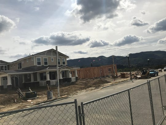 Construction is underway at The Bridges community in Fillmore, which is being built by Calabasas-based real estate developer Hearthstone Inc.