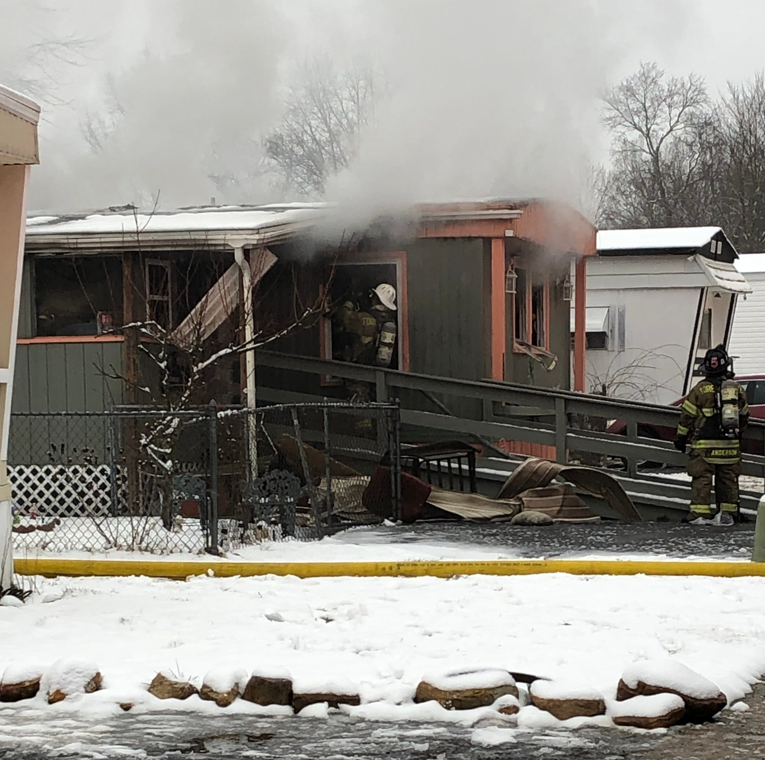Fire at Vineland Mobile Home park claims lives of a person and a pet