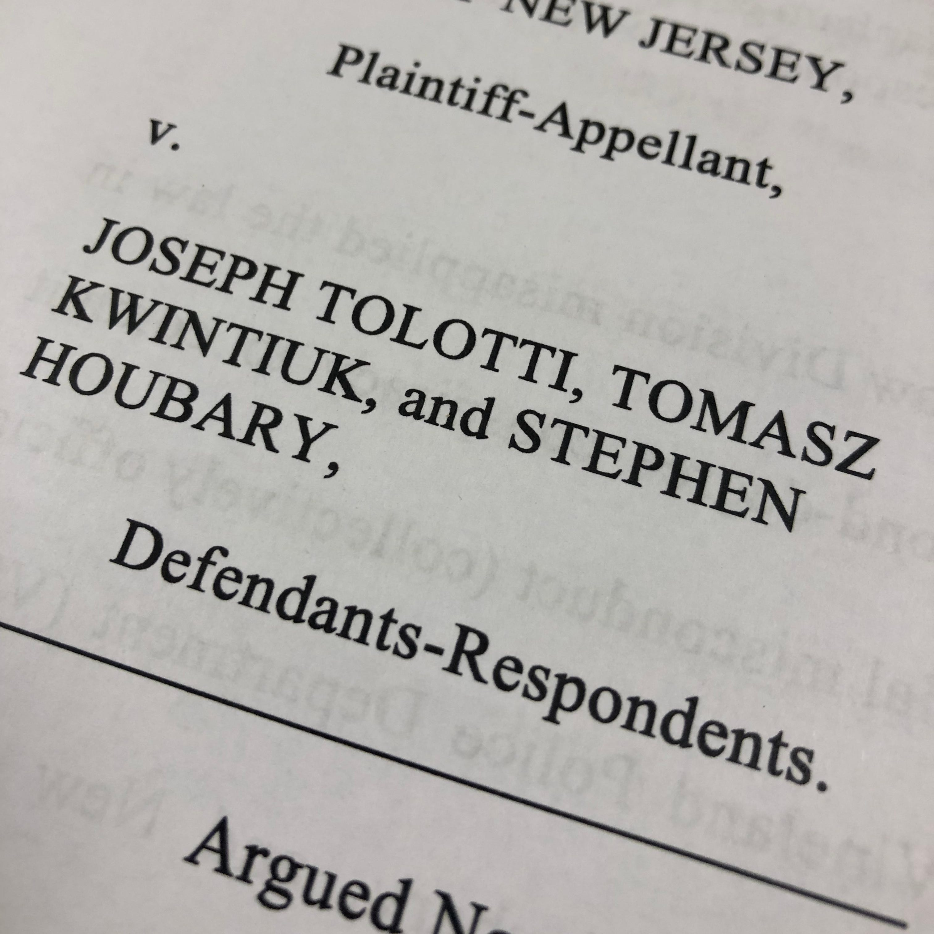 Misconduct charges reinstated against two Vineland police officers