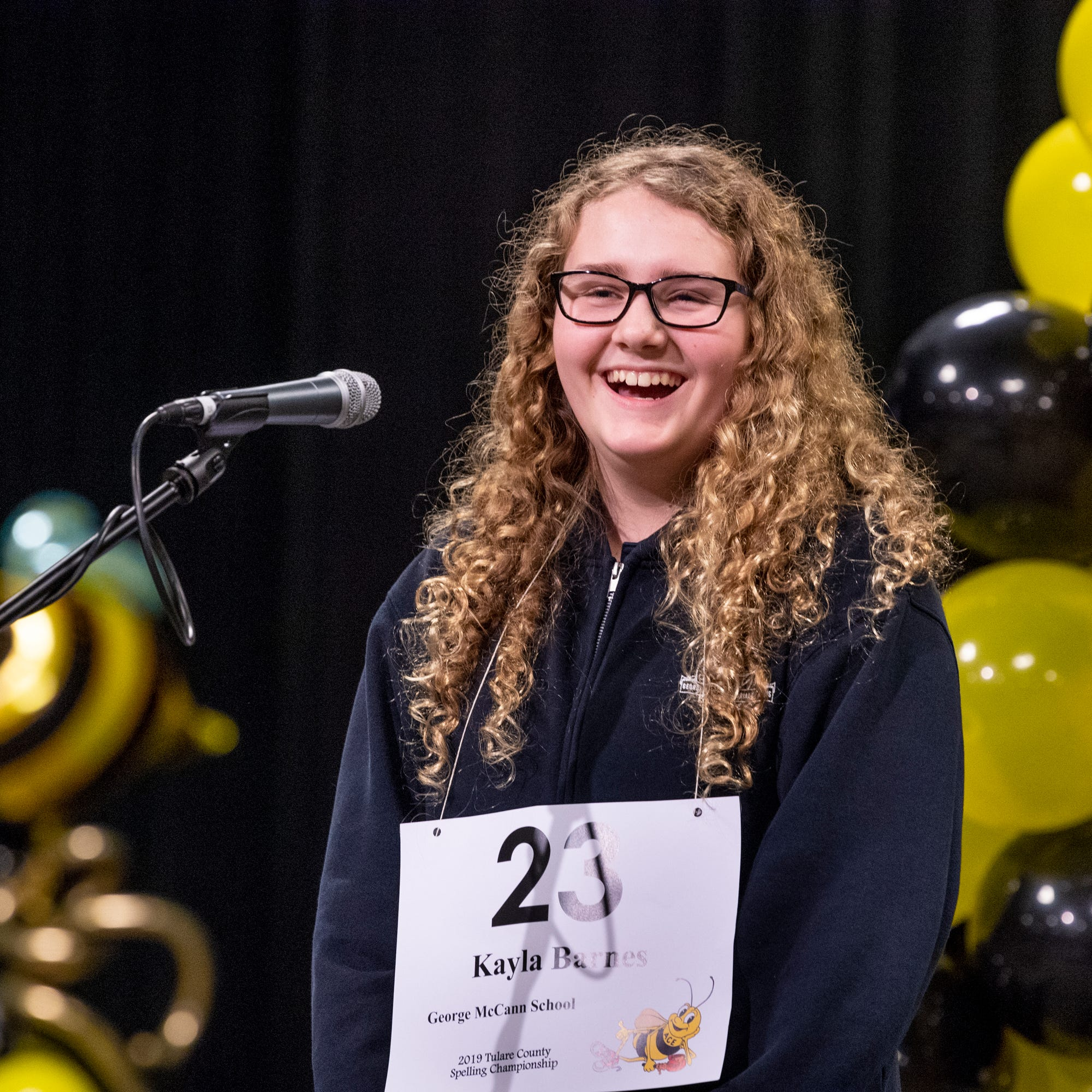 Visalia student takes home Tulare County Spelling Bee win