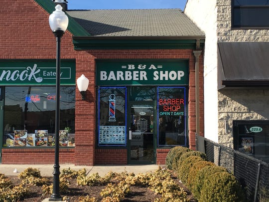 B & A Barber Shop at 229 Main St. in New Rochelle.