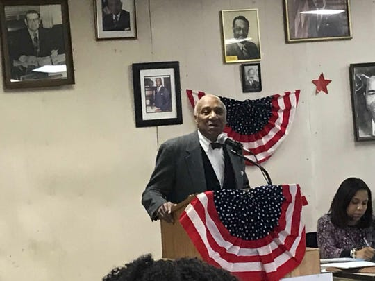 Former Mount Vernon Mayor Ernie Davis seeking Democratic district leaders' endorsement for mayor at the party convention Feb. 19, 2019