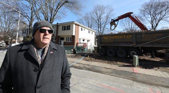 Suffern Mayor Ed Markunas in the Squires Gate neighborhood of Suffern Feb. 19, 2019.