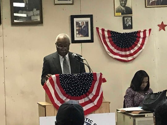 Clyde Isley won the endorsement of Democratic district leaders to run for mayor of Mount Vernon at the party convention Feb. 19, 2019