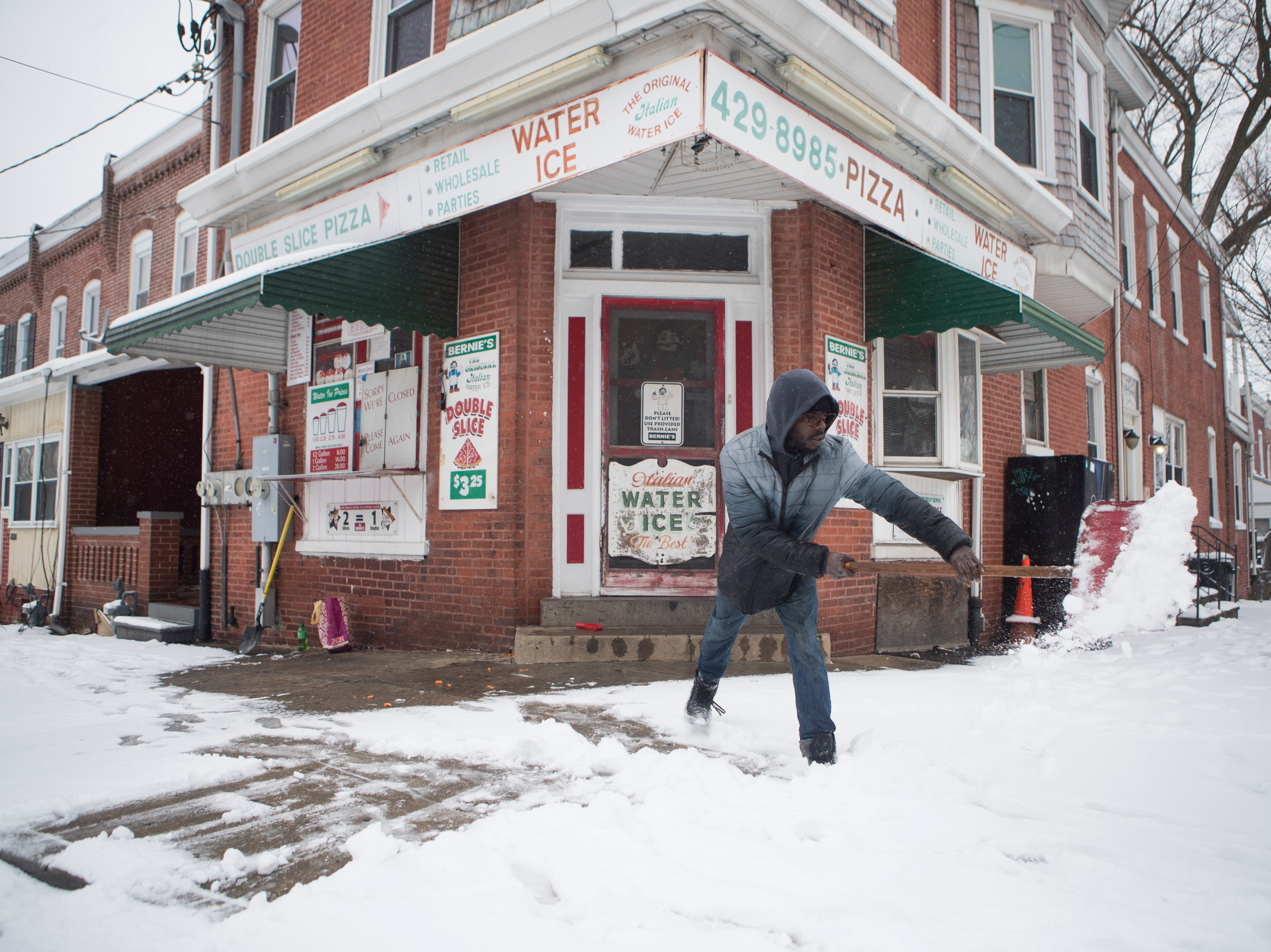 Snow day: Sights and sounds from Wednesday's storm