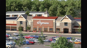 The crowd at Pettinaro's unveiling of plans for Barley Mill Plaza seemed to agree: Wegmans is welcome at the redevelopment site. The rest of the plan received mostly positive reviews as well.