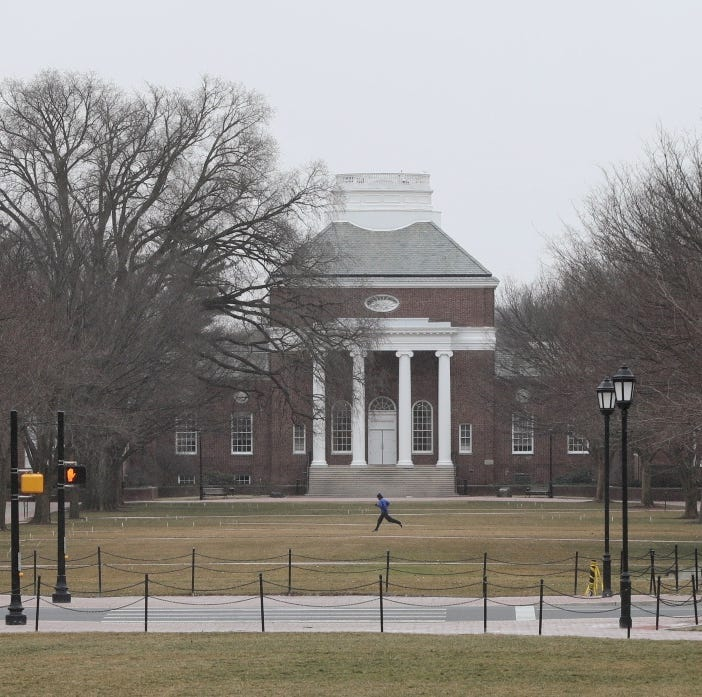 Naked, injured man walking around University of Delaware detained, campus police say