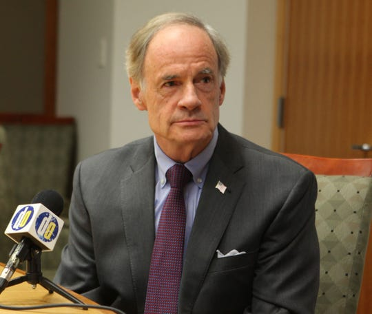U.S. Sen. Tom Carper (D-Delaware) has yet to say whether he supports impeachment proceedings.