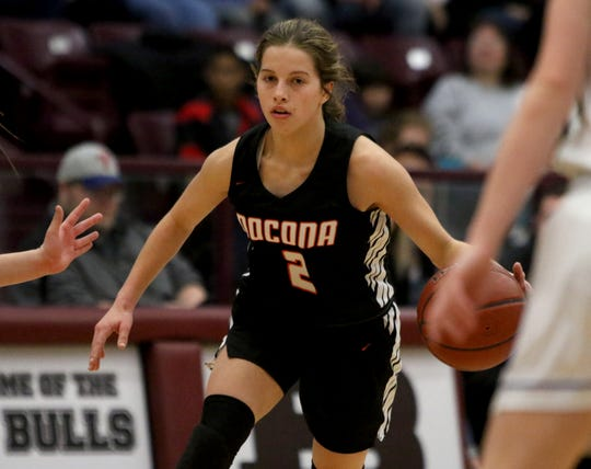 Nocona junior Trystin Fenoglio is making her first Red River 22 appearance.