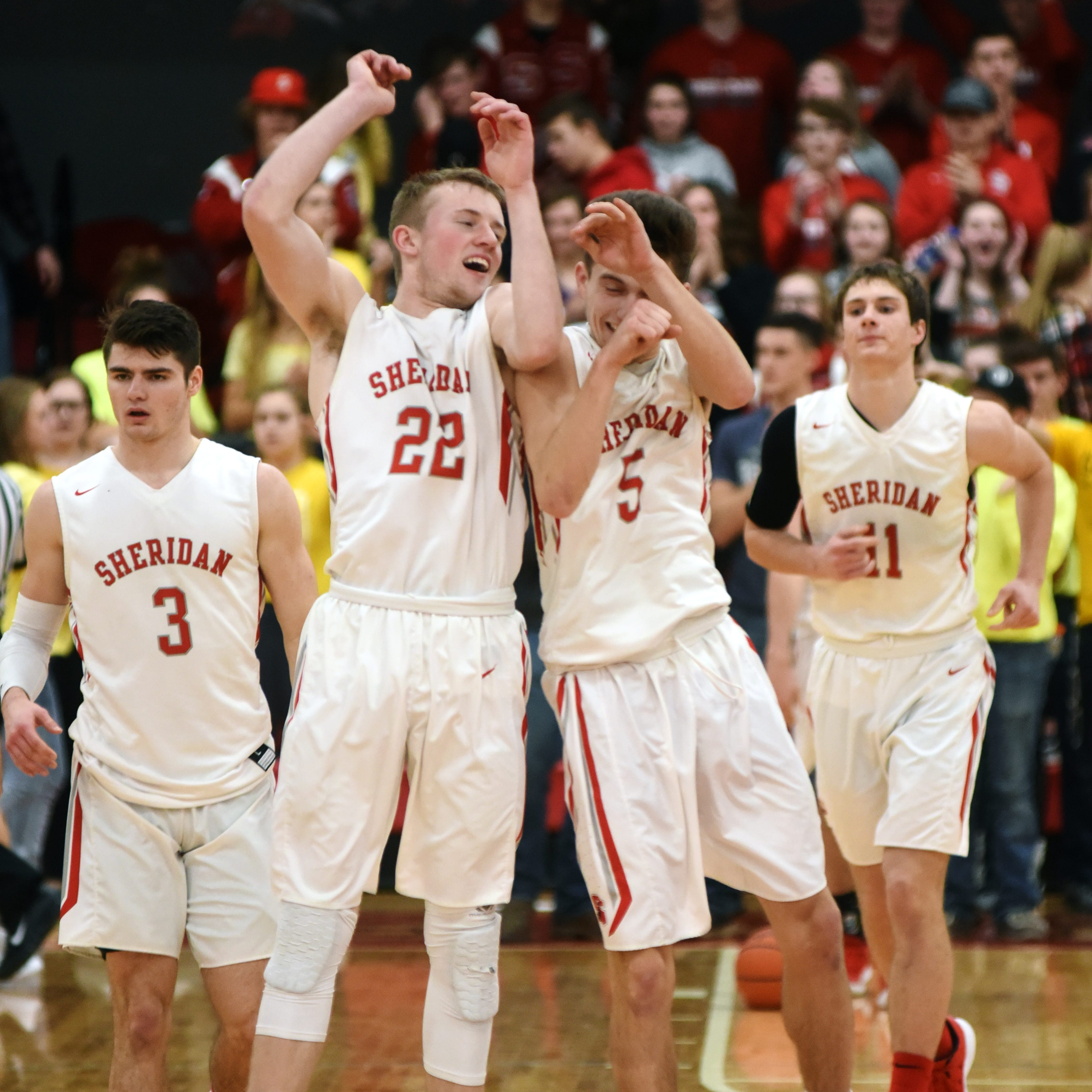 It's a wrap: John Glenn, Sheridan eyeing tourney play