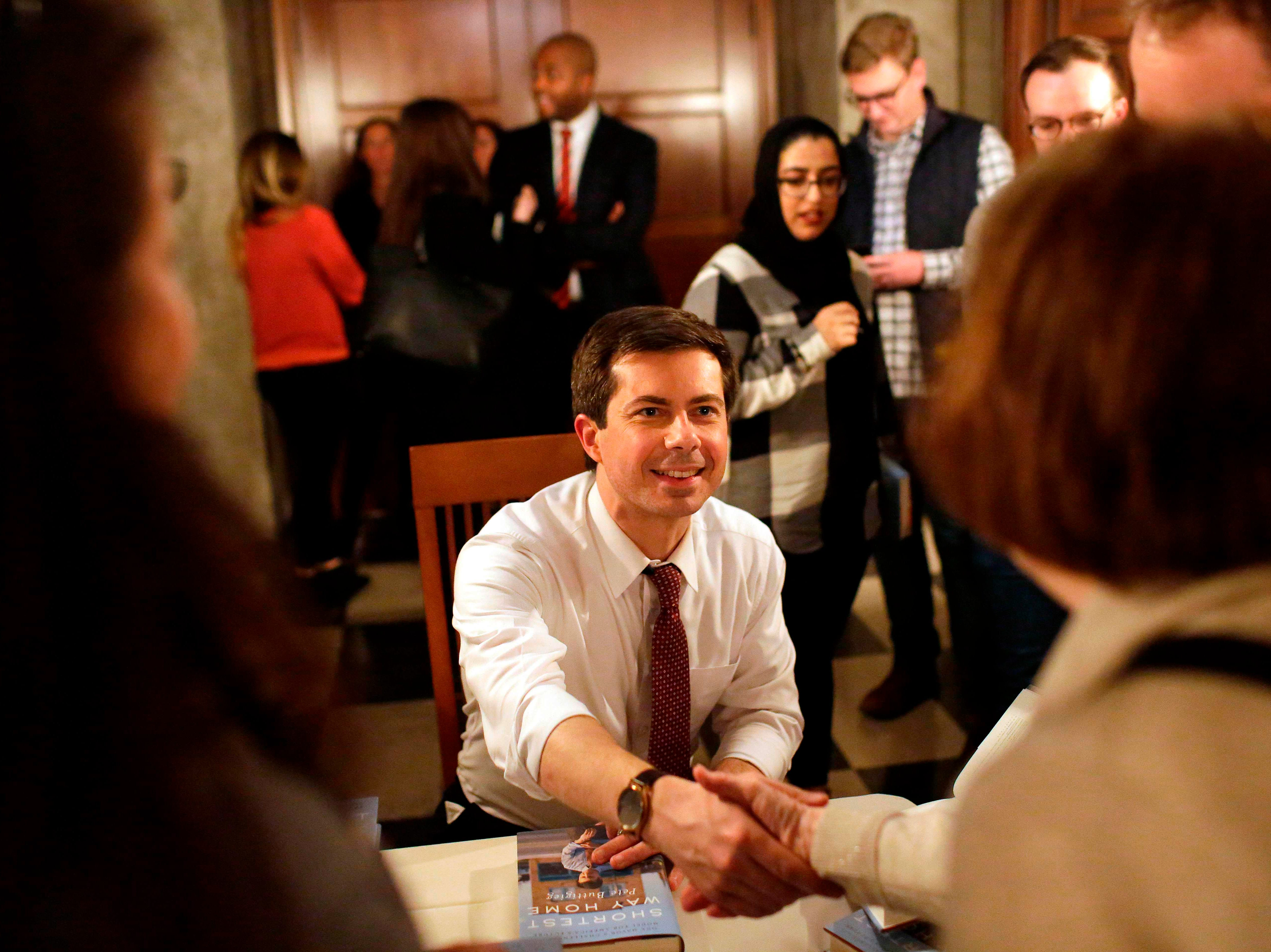 South Bend, Ind. Mayor Pete Buttigieg announced he was running for president on Jan. 23, 2019.