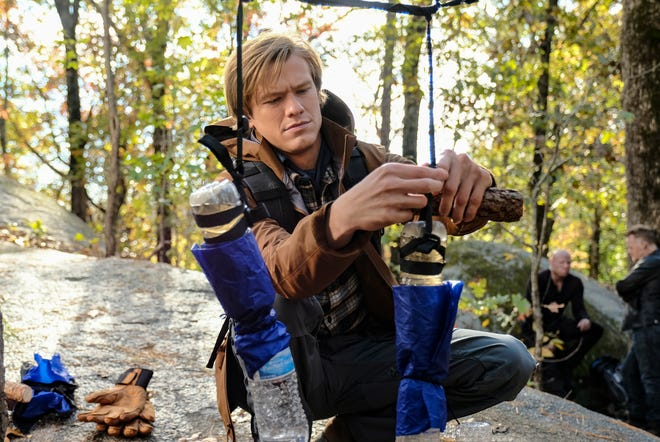 Lucas Till plays the title character in CBS's 'MacGyver,' whose producer was hit with a $9,472 fine Tuesday after an OSHA investigation into a stuntman's injury in August.