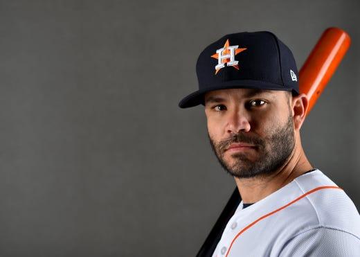 Jose Altuve, Astros