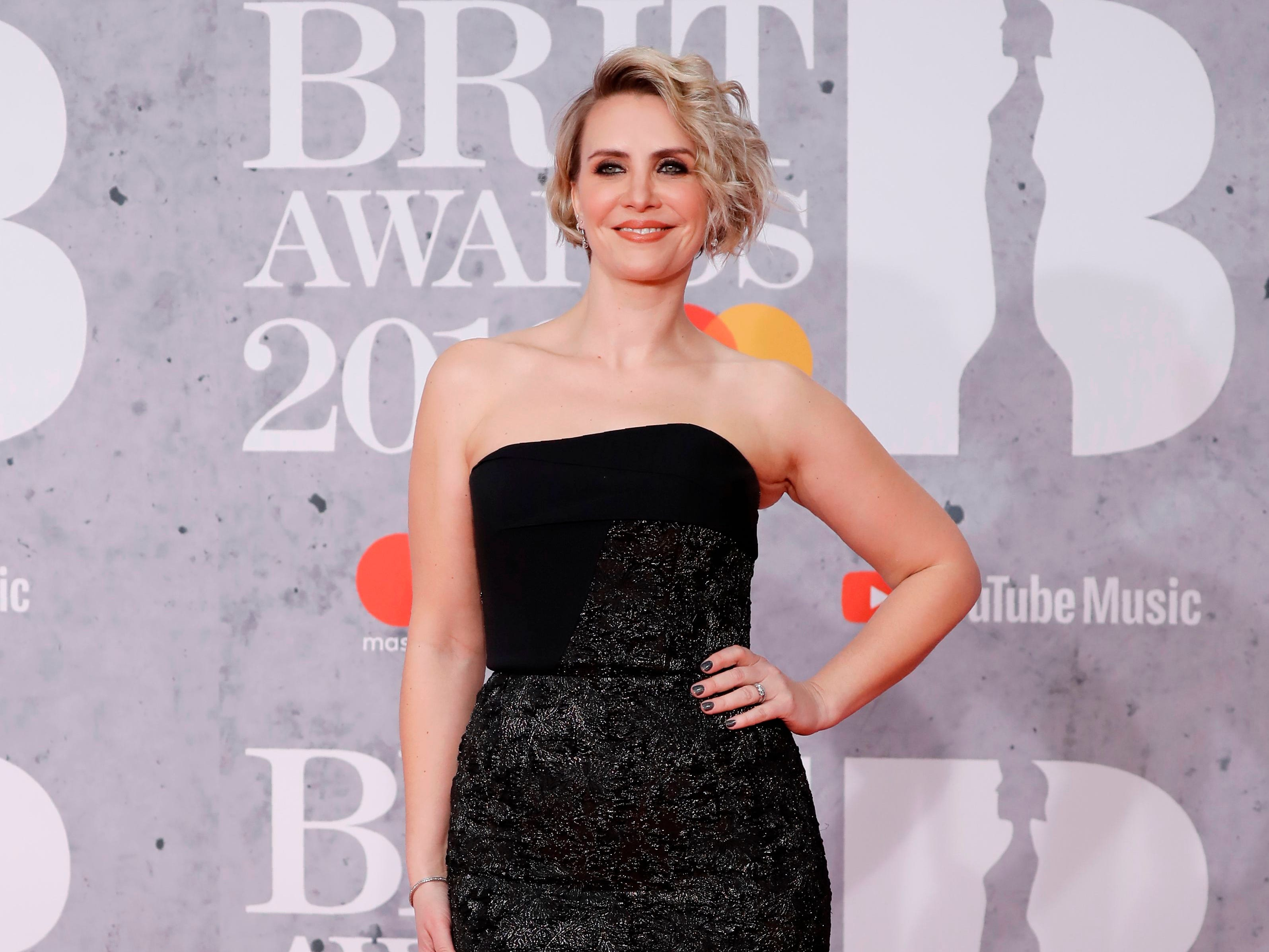 British singer-songwriter Claire Richards poses on the red carpet on arrival for the BRIT Awards 2019 in London on February 20, 2019. (Photo by Tolga AKMEN / AFP) / RESTRICTED TO EDITORIAL USE  NO POSTERS  NO MERCHANDISE NO USE IN PUBLICATIONS DEVOTED TO ARTISTSTOLGA AKMEN/AFP/Getty Images ORIG FILE ID: AFP_1DO251