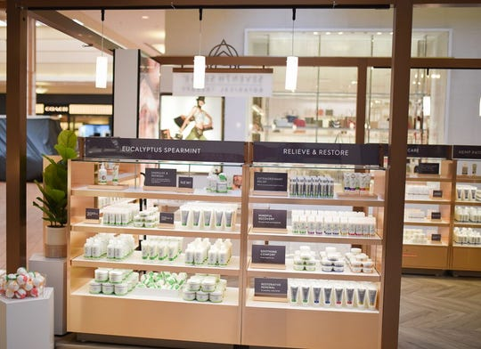 Seventh Sense, a shop selling CBD infused wellness and beauty products will be opening in Simon Property owned malls across the U.S.