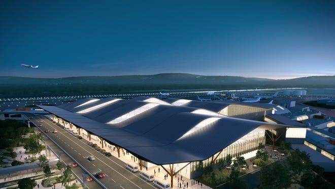 Pittsburgh airport: Sleek new $1 1B terminal continues