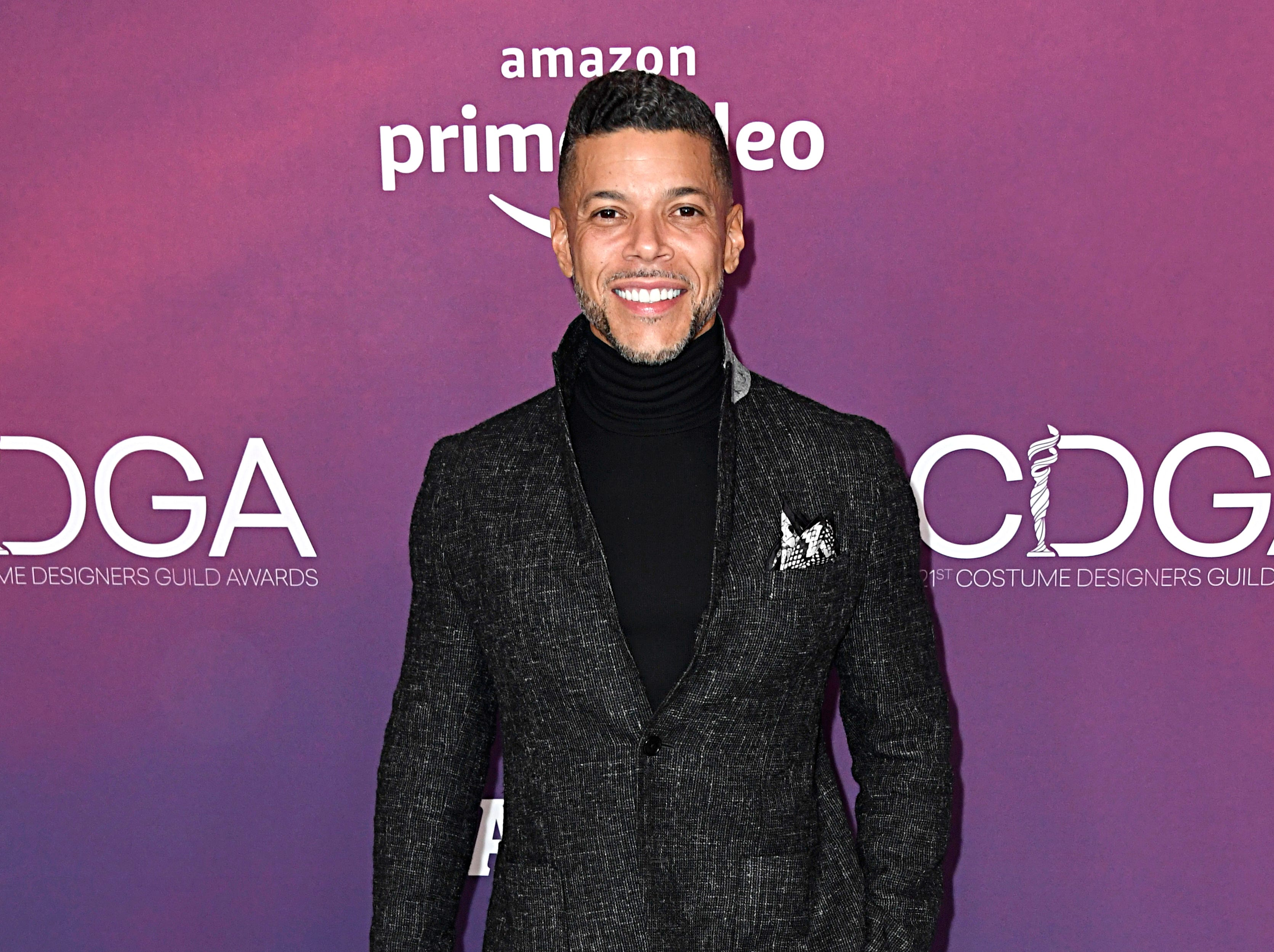 BEVERLY HILLS, CALIFORNIA - FEBRUARY 19: Wilson Cruz attends The 21st CDGA (Costume Designers Guild Awards) at The Beverly Hilton Hotel on February 19, 2019 in Beverly Hills, California. (Photo by Frazer Harrison/Getty Images) ORG XMIT: 775282683 ORIG FILE ID: 1130828486