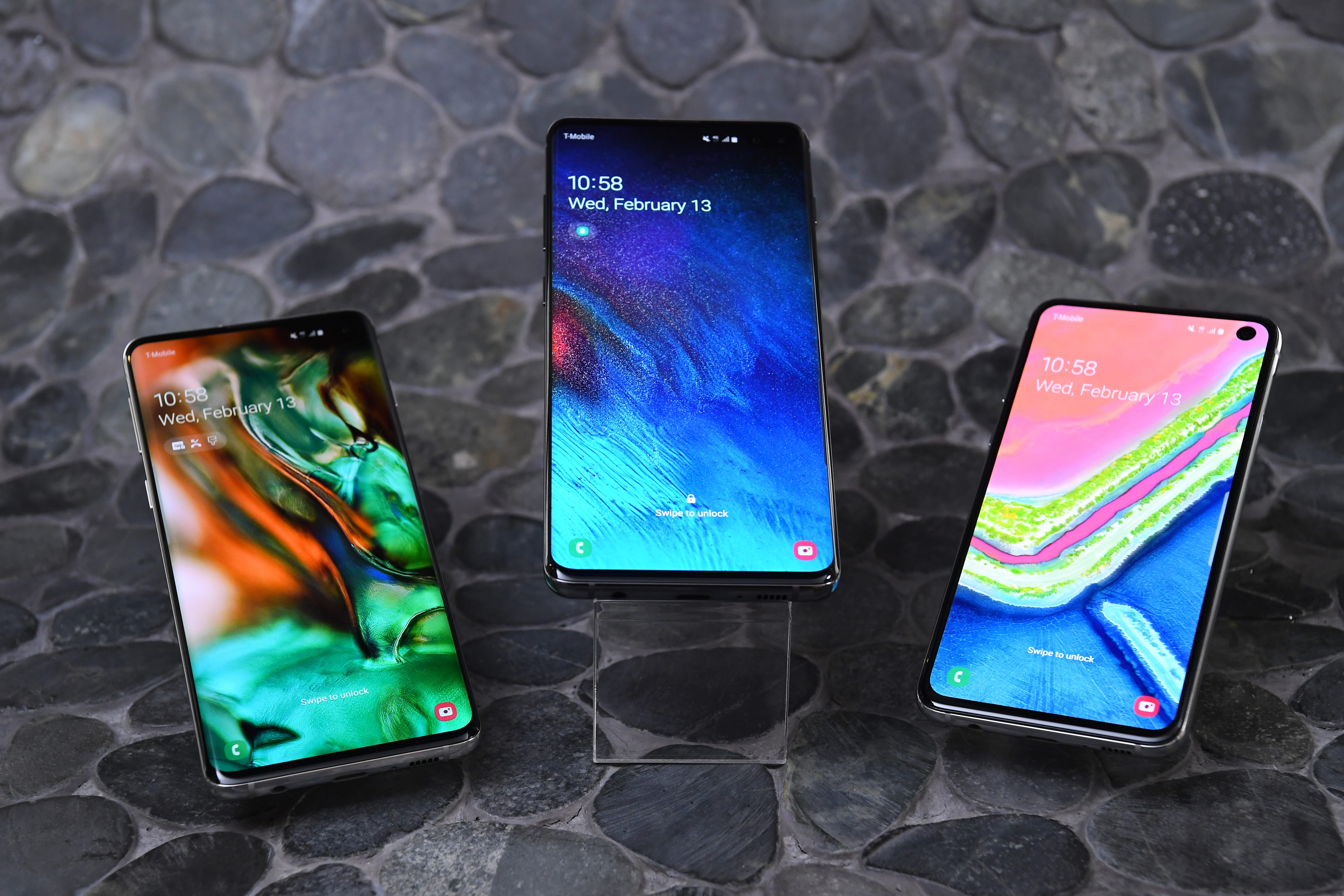 First look: Samsung's Galaxy S10 line goes big for tenth anniversary