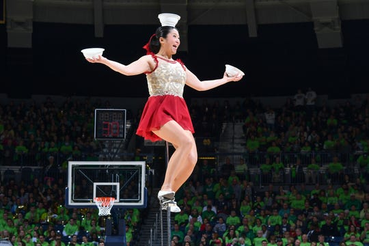 Red Panda during a December performance.