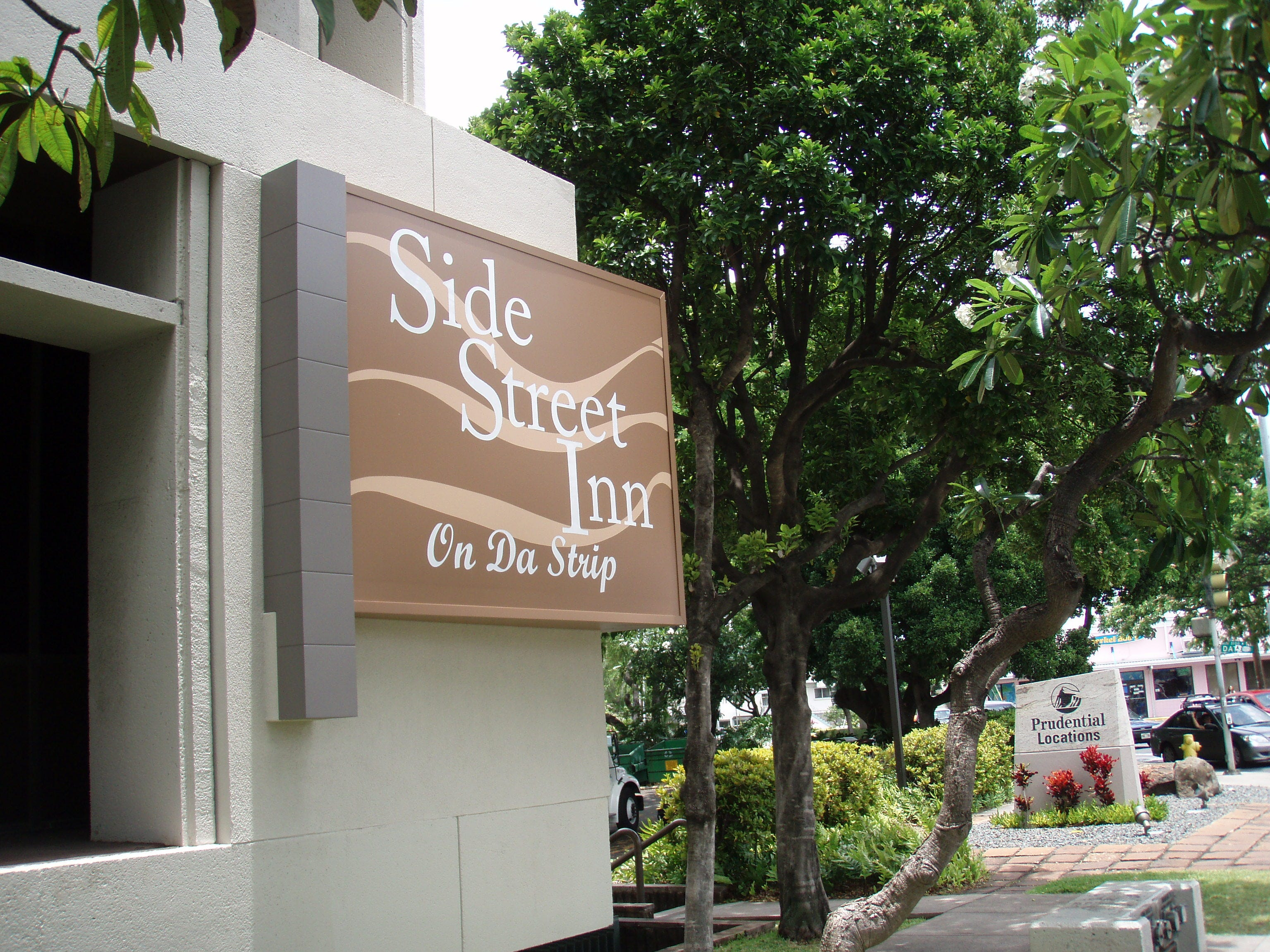 The second location of Honolulu's Side Street Inn opened in 2010 and sits on the far edge of Waikiki.