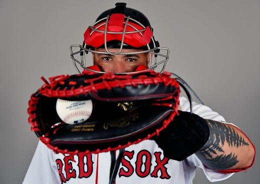 Sandy Leon, Red Sox