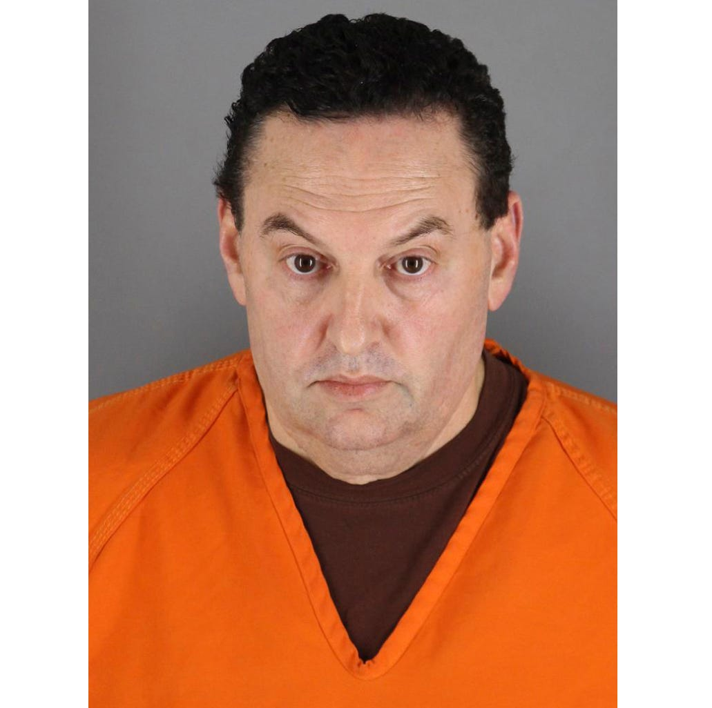 He threw away a napkin at a hockey game. Police used it to charge him with a 1993 murder