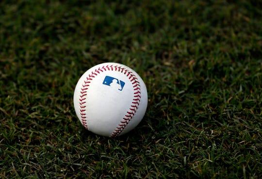 An official Major League Baseball.